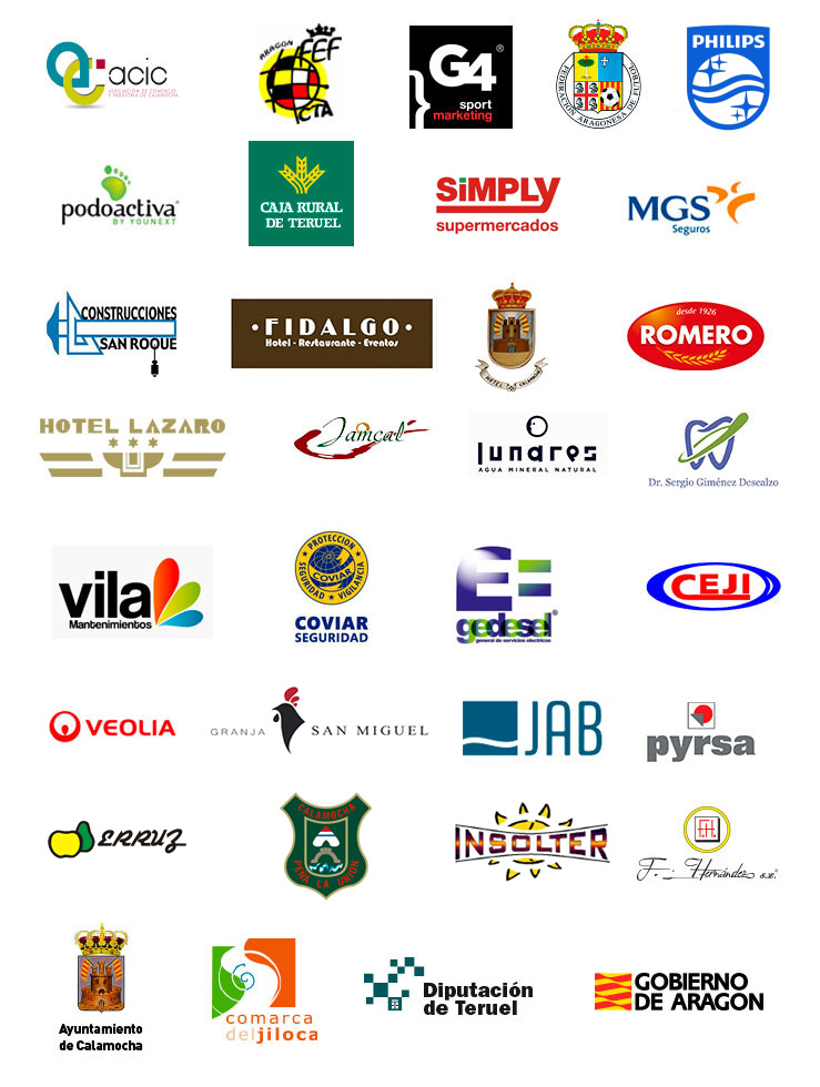 patrocinadores JamónCup 18