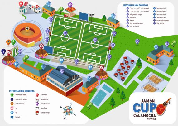 Plano del Campo Jumaya