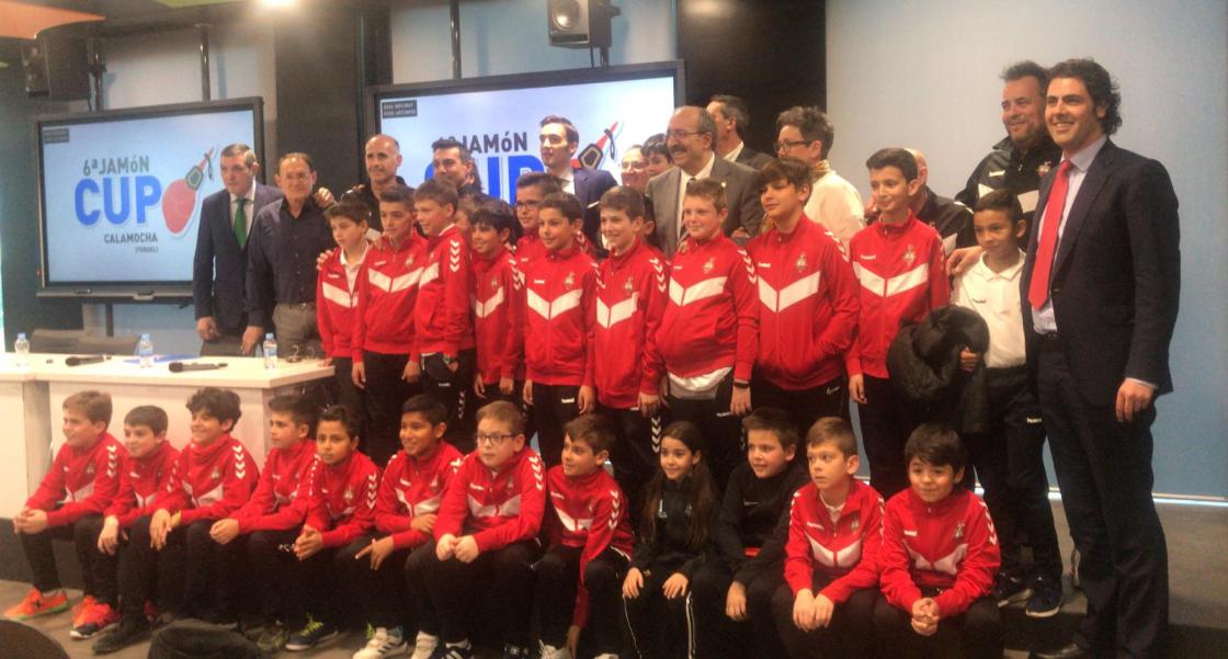 presentación Jamón Cup 2020
