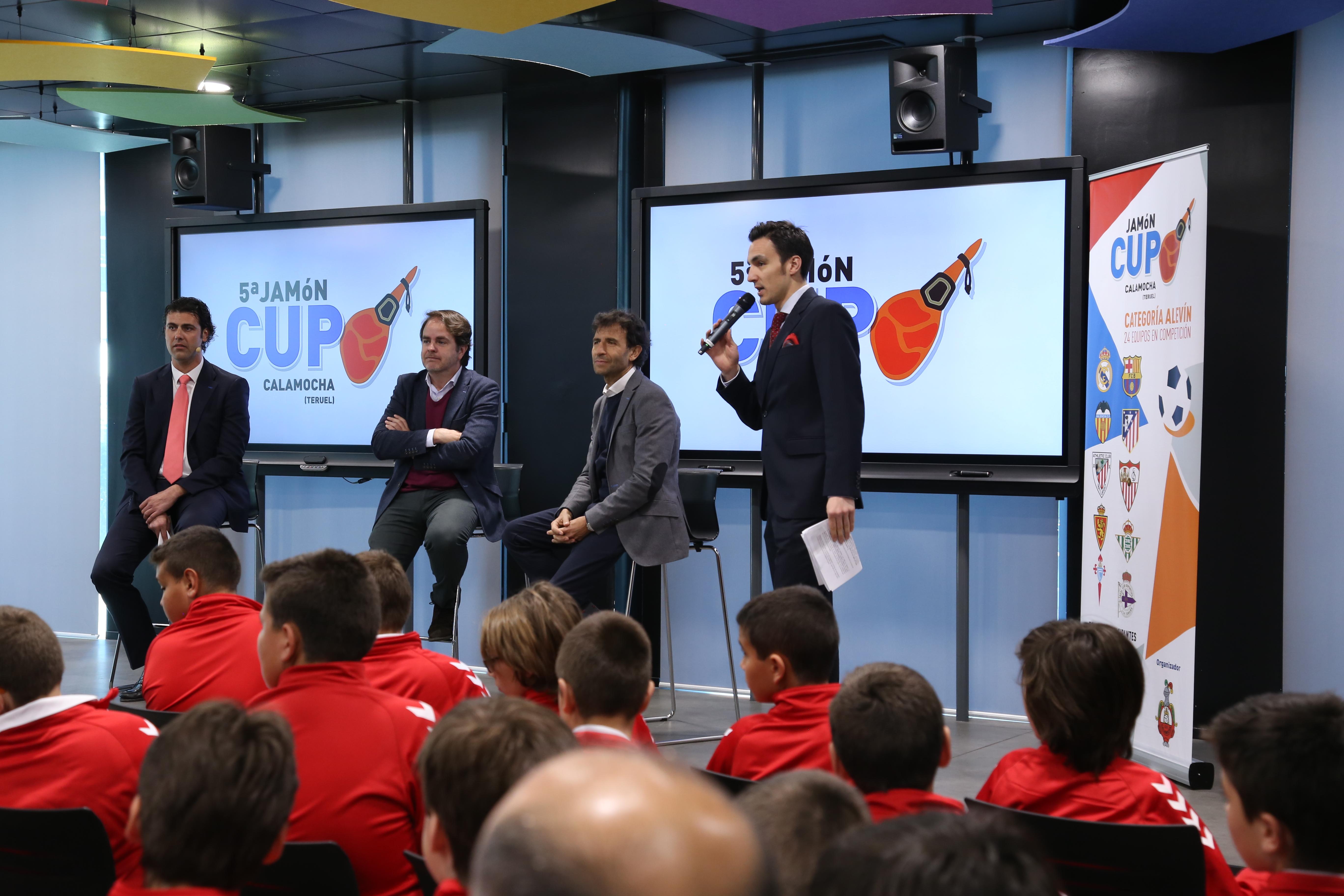 presentación Jamón Cup 2019